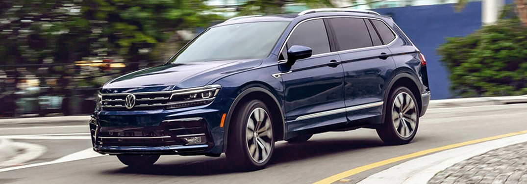 2021 Volkswagen Tiguan is available in 7 different paint color options