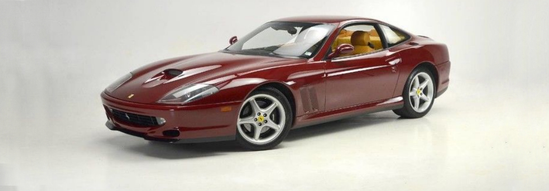 This Ferrari 550 Maranello Could Be Your Next Classic Car