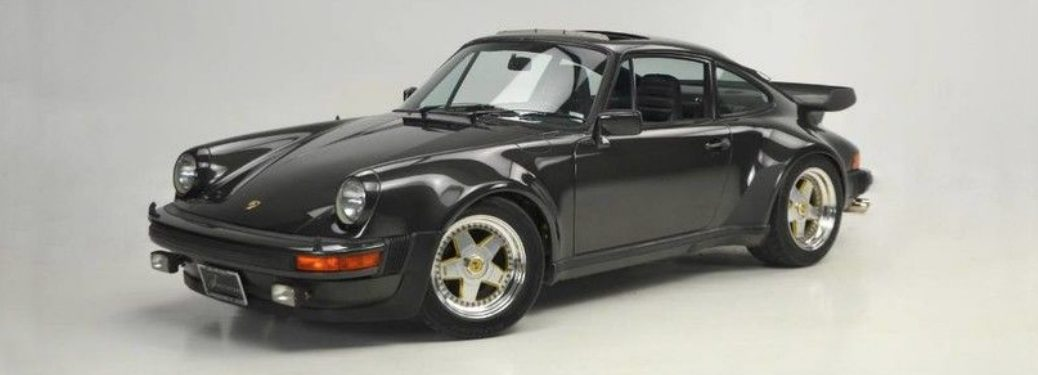 black 1979 Porsche 930 Turbo Carrera Coupe