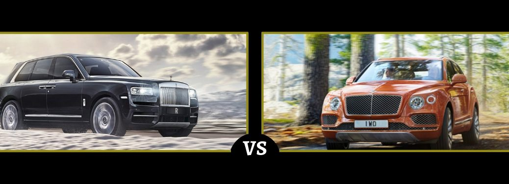 2019 Rolls Royce Cullinan vs 2019 Bentley Bentayga