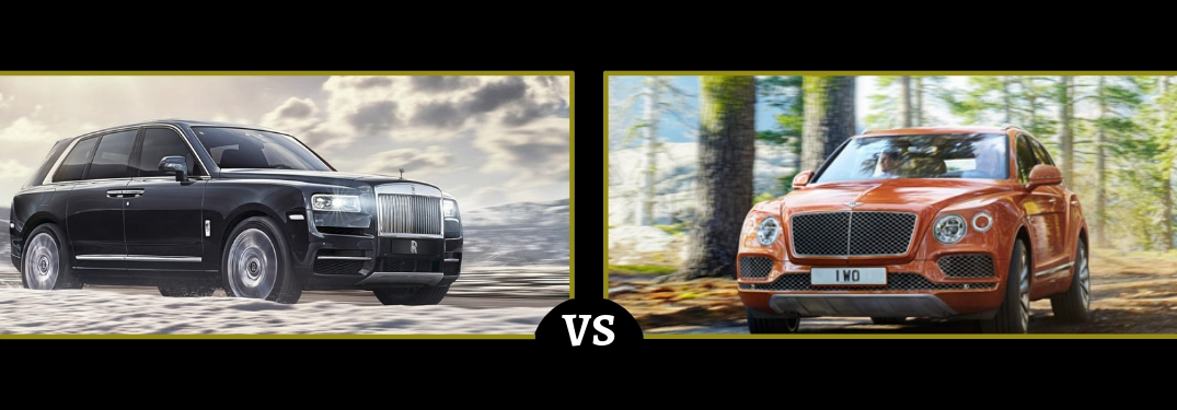 Differences Between the Rolls-Royce Cullinan and Bentley Bentayga