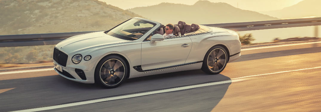 The All-New Bentley Continental GT Convertible Is Available With a Tweed Roof