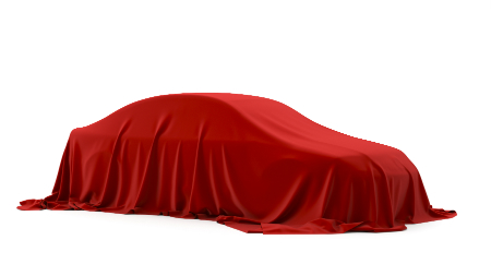 red cover on a car