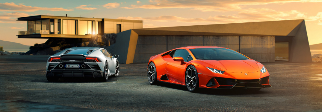 The Lamborghini Huracán Evo Has a 620-Horsepower V10 Engine