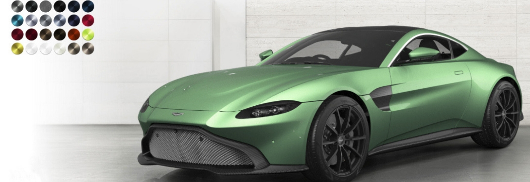 The 2019 Aston Martin Vantage Is Available in 41 Different Paint Colors