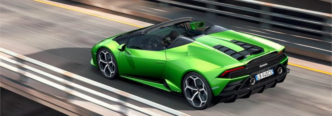 Lamborghini Will Debut the 640-Horsepower Huracán Evo Spyder Convertible at the Geneva Motor Show