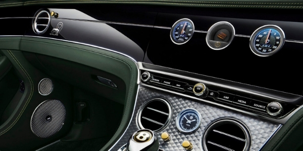 Bentley Continental GT Number 9 Edition Dashboard and Center Console