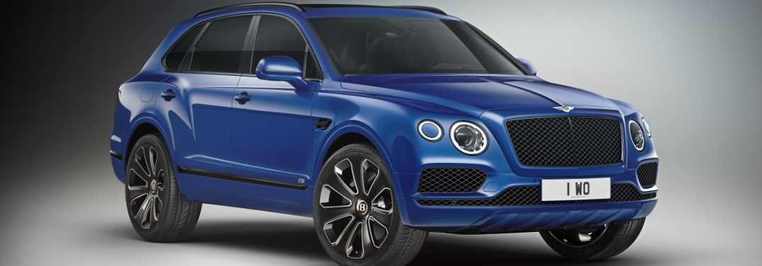 Bentley Bentayga Adds Blacked-Out Design Series to the Model Lineup