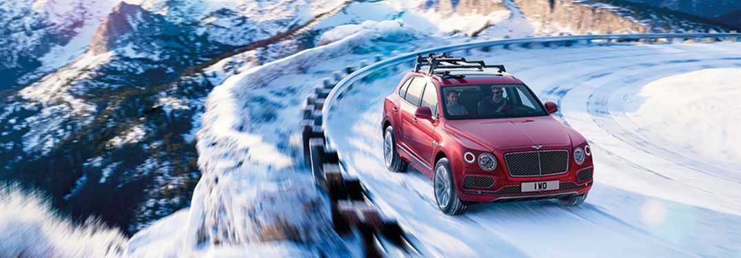 Choose From 72 Available Exterior Color Options for Your Bentley Bentayga