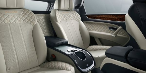 2019 Bentley Bentayga Rear Interior