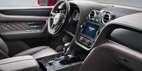 2019 Bentley Bentayga Front Seat Interior and Dashboard