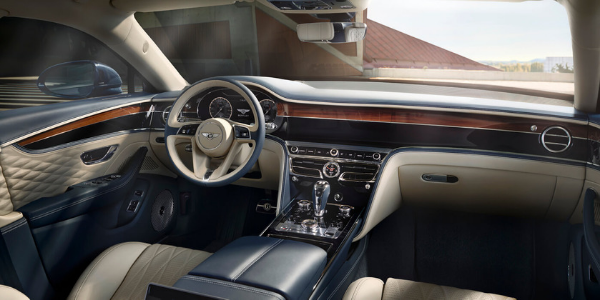 2020 Bentley Flying Spur Steering Wheel, Dashboard, Front Seats and Center Console