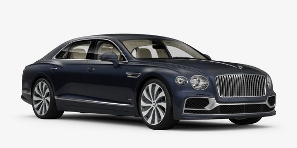 Meteor 2020 Bentley Flying Spur on White Background
