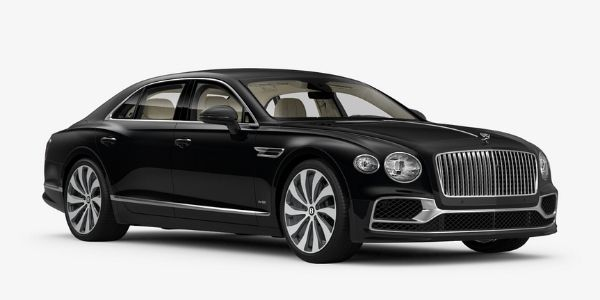 Onyx 2020 Bentley Flying Spur on White Background