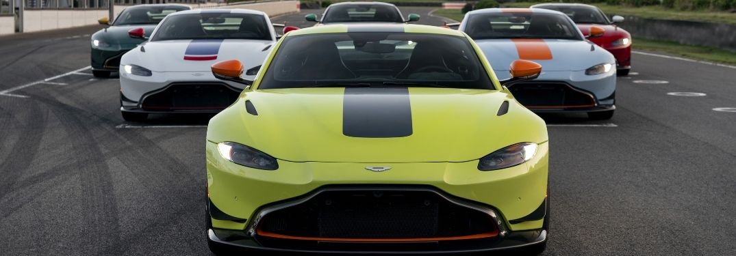 Aston Martin Unveils Vantage Heritage Racing Editions and Aero Kit at Goodwood Festival of Speed