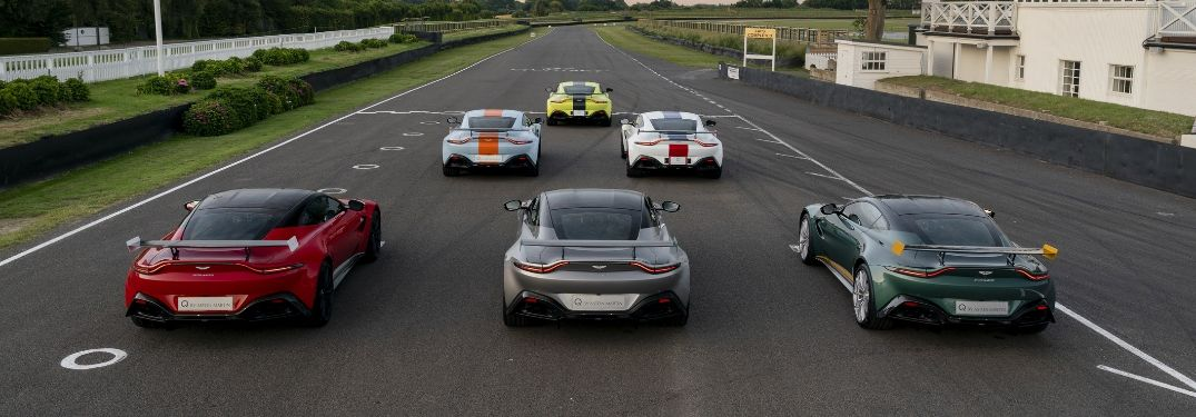 Aston Martin Heritage Racing Edition Rear Exteriors on the Track