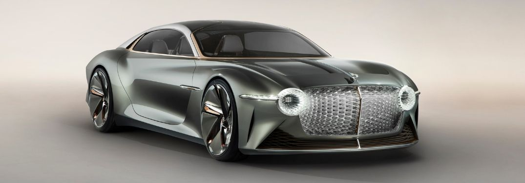 Bentley Unveils All-New, All-Electric Bentley EXP 100 GT Concept for 100th Anniversary