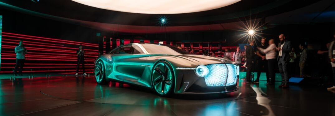 All-Electric Bentley EXP 100 GT Represents the Future of the Bentley Motors Brand
