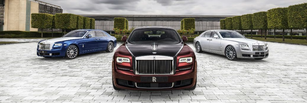 Rolls-Royce Ghost Zenith Collection Exterior Front Fascia and Angles