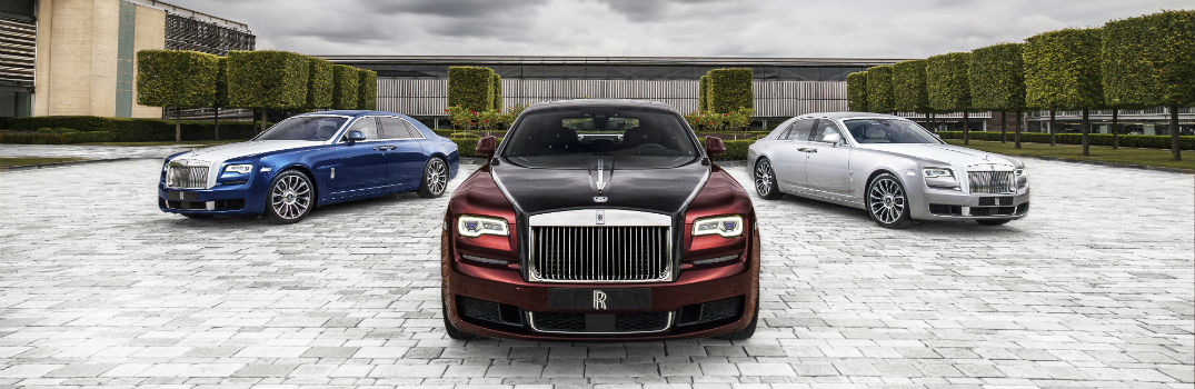 Design Cues of the Rolls-Royce Ghost Zenith Collector's Edition