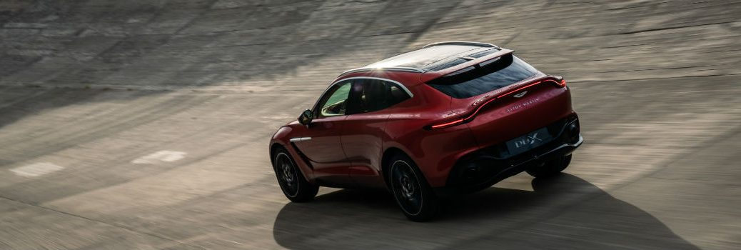 2020 Aston Martin DBX Exterior Driver Side Rear Profile
