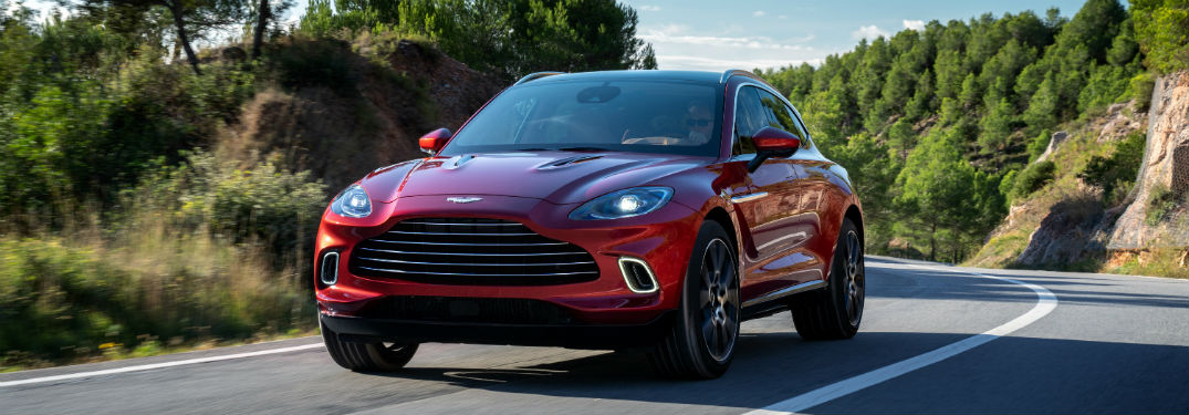 What Does the 2021 Aston Martin DBX at St. Louis Motorcars Look Like?