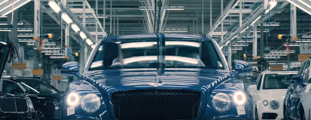 View the Detailed Crafting Process of the Bentley Bentayga Speed
