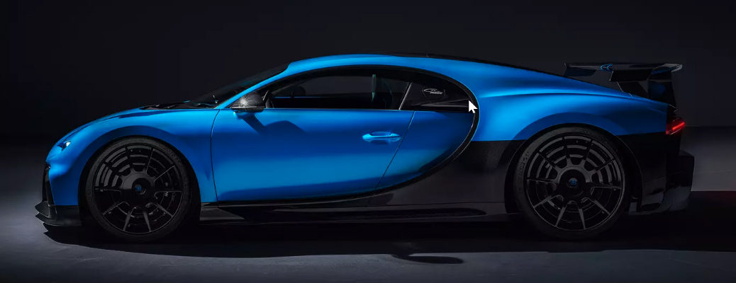 Get a 360-Degree View of the Bugatti Chiron Pur Sport