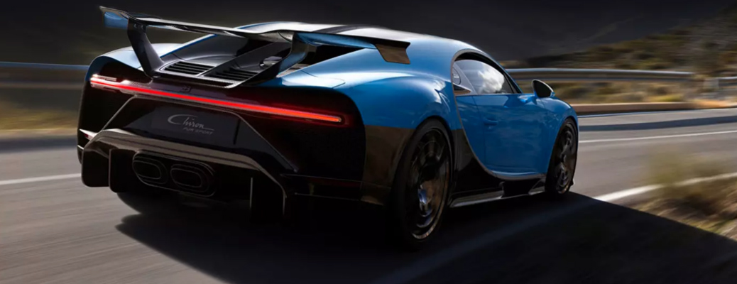 How fast can the Bugatti Chiron Pur Sport go?