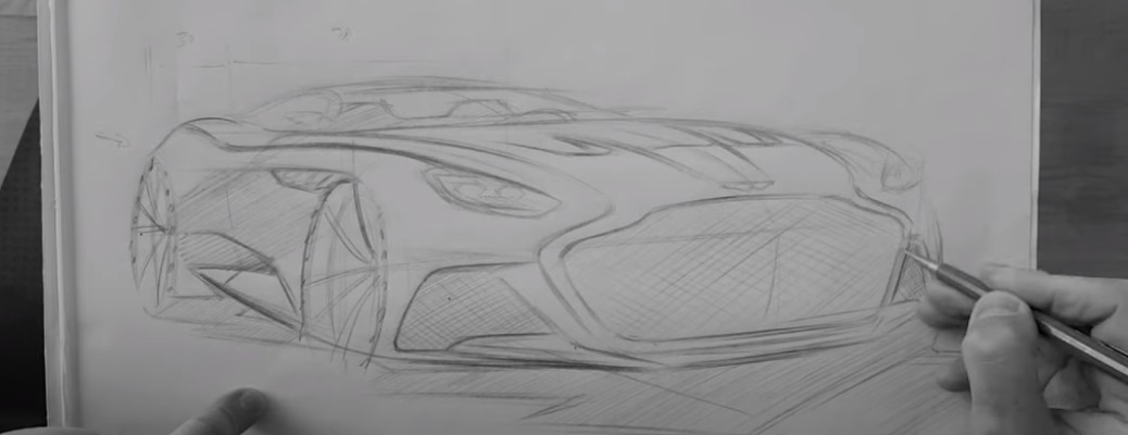 How to Draw an Aston Martin DBX, Vantage, Valkyrie, and DBS Superleggera