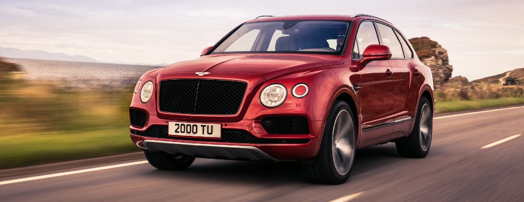 What's the seating capacity of the 2020 Bentley Bentayga?