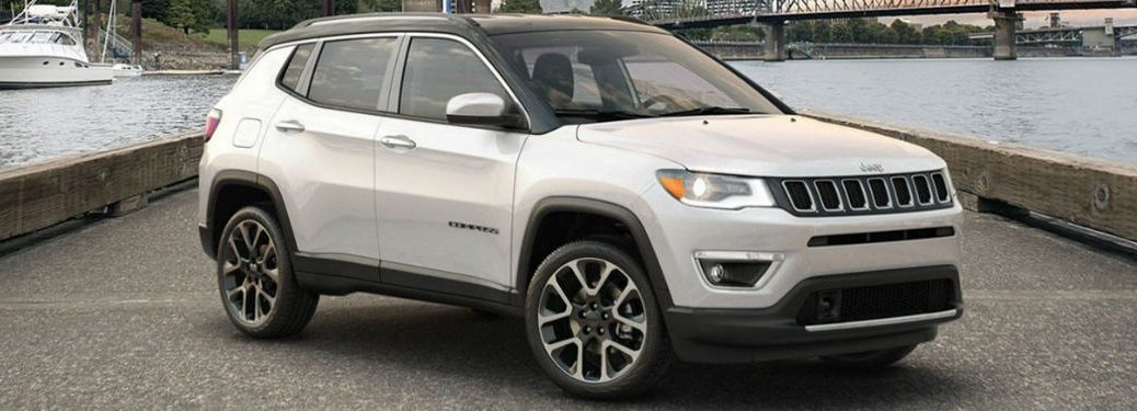 2020 Jeep Compass in white