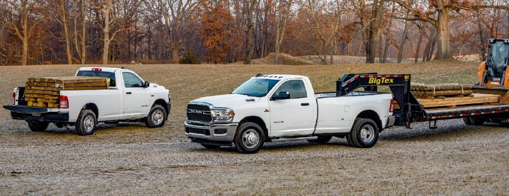 2021 Ram 2500 and 3500
