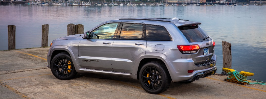 Don't leave anything or anyone behind with the 2021 Grand Cherokee
