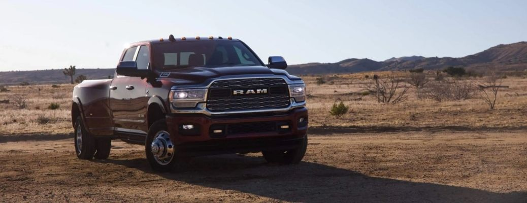 2021 Ram 3500 on the road