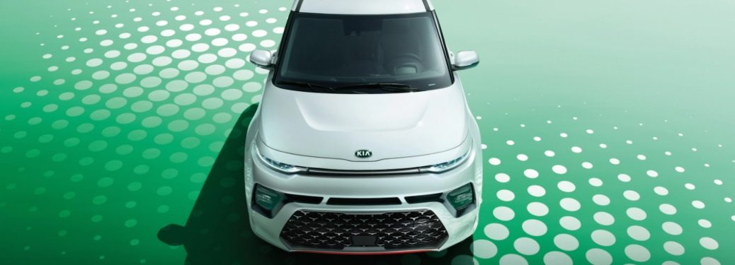 2021 Kia Soul from the front