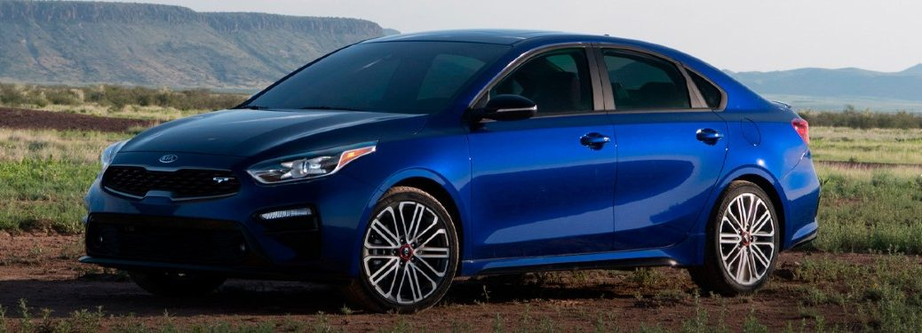 2021 Kia Forte front and side profile