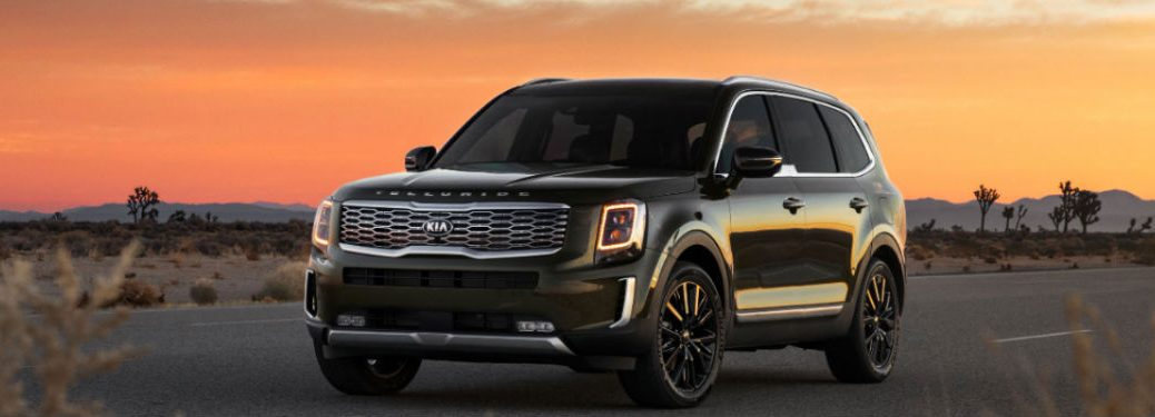2021 Kia Telluride front and side profile