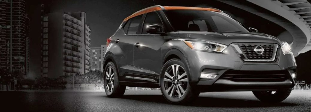 2020 Nissan Kicks on the road