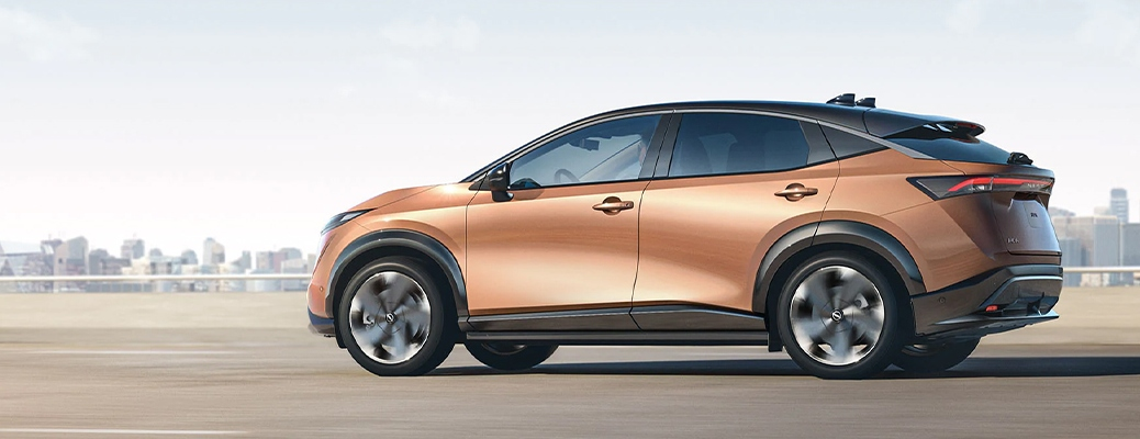 Profile view of the 2021 Nissan Ariya
