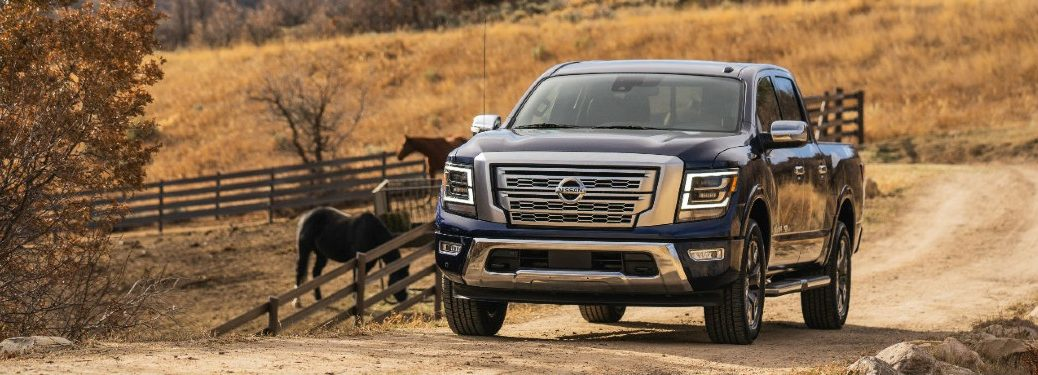 2021 Nissan TITAN in the middle of nowhere