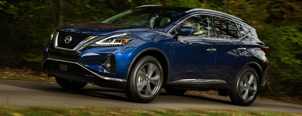 2021 Nissan Murano going down the road