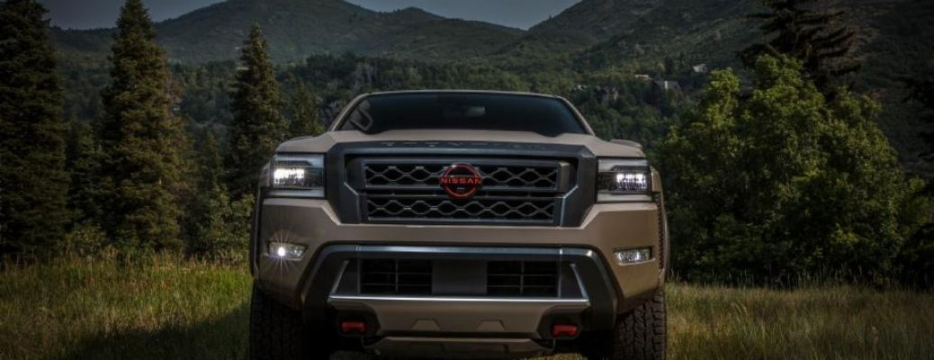 front view of the 2022 Nissan Frontier