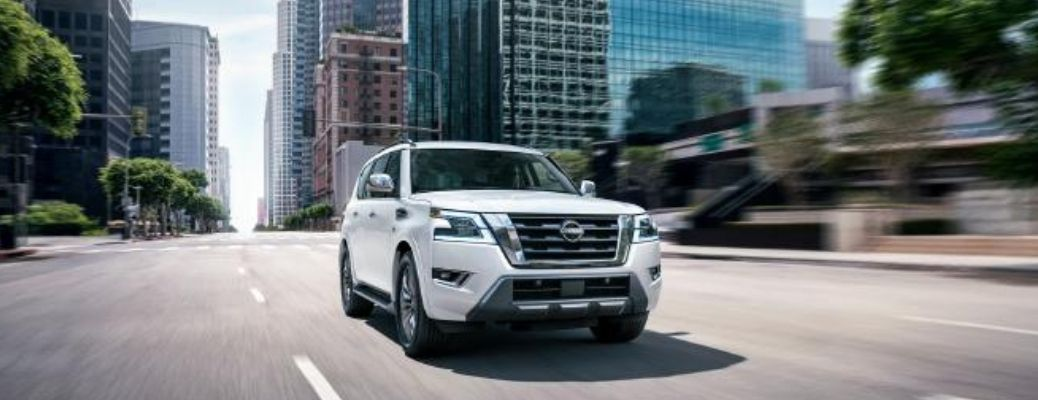 front view of the 2022 Nissan Armada®