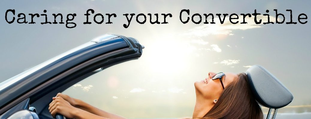How to Care for a Convertible Top