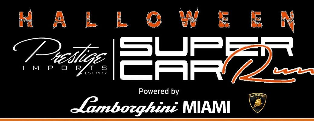 Halloween Supercar Run Lamborghini Miami