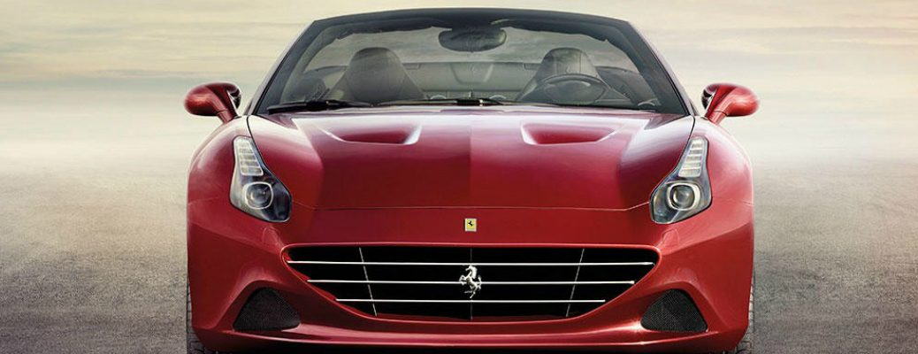 Performance and Design of the 2017 Ferrari California T Front