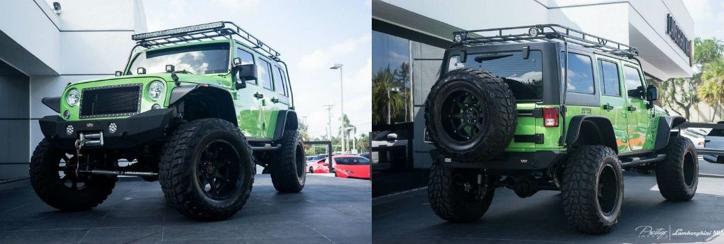 2014 Jeep Wrangler Unlimited SEMA Show Car For Sale Miami FL