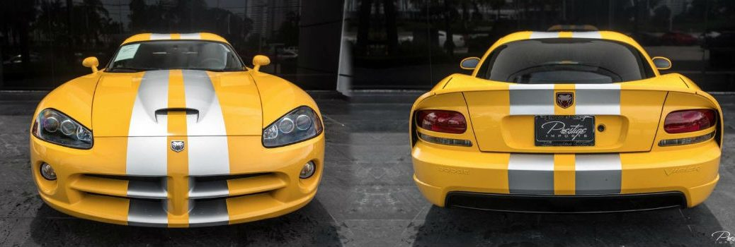 2006 Dodge Viper SRT10 Exterior Front and Rear Fascias