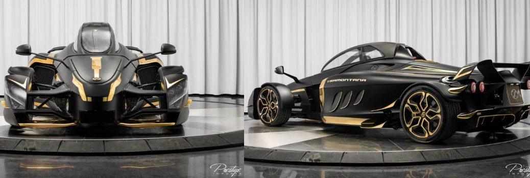 2017 Tramontana Exterior Front Fascia and Driver Side Rear Profile